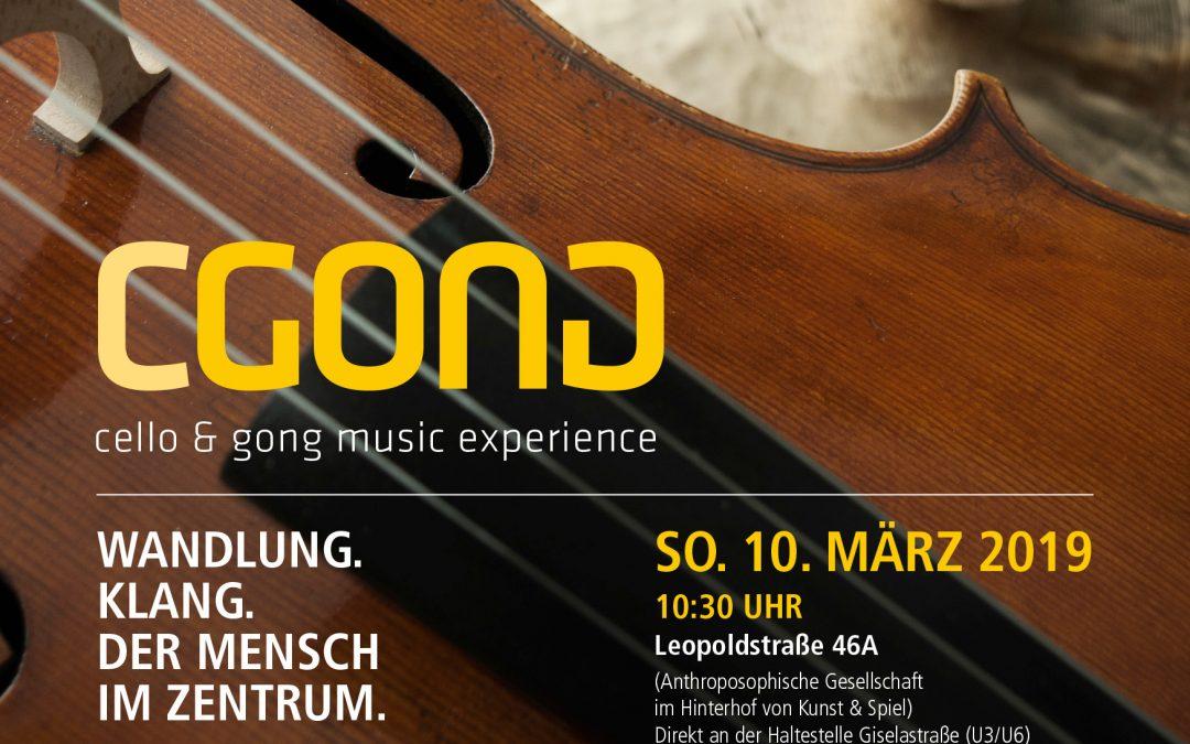 Wandlung. Klang. Der Mensch im Zentrum. – Konzert am 10. März 2019